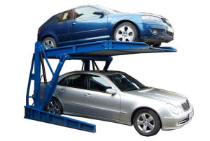 Space Saver Depp606 with New CE and ISO9001 2 Column Parking Lift
