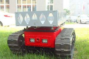 Fire Row Smoke Extractor Transportation Assistance Robot pictures & photos