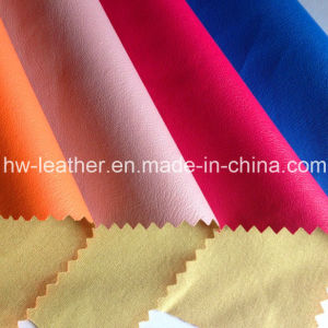 Popular PU Leather for Garments (HW-1642) pictures & photos