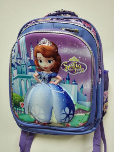 2015 Good Quality Newest Lovely Design Cartoon Kids School Bags with Trolley