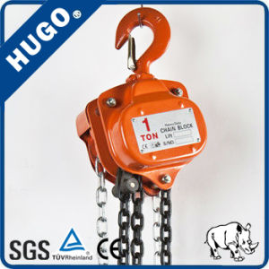 Stainless Steel Hand Chain Hoist Pulley pictures & photos
