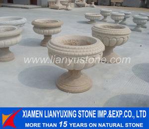 Granite Flower Pots & Planters for Park Decoration