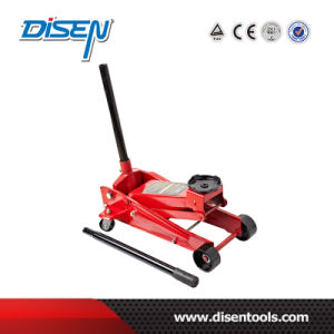 CE 3ton Portable Hydraulic Flooring Jack with Caster