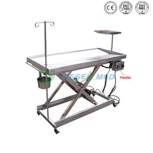 Ysvet0506 Hospital Medical Stainless Steel Veterinary Operating Table pictures & photos