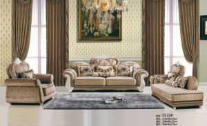 Luxury Leather Sofa, Dubai New Classic Sofa (F533) pictures & photos