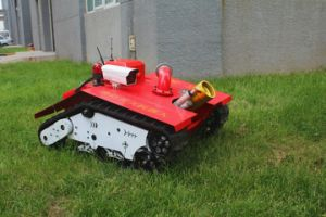 Self-Adapting Ability to Ground Fire Robot pictures & photos