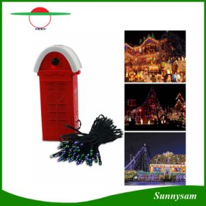 100/200PCS LED Saline LED String Lights 4 Colors Salt Water Powered Energy-Saving Outdoor Decoration Light for Party Festival pictures & photos