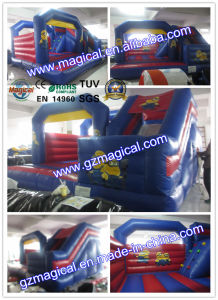Minion Inflatable Bouncy Castle with Slide / Inflatable Combo pictures & photos
