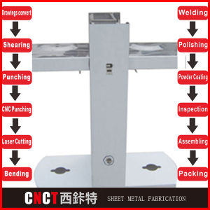 Steel Metal Fabrication in China (custom made) pictures & photos