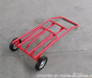 More Useful Good Quality Solid Wheel Hand Truck Ht1585 pictures & photos
