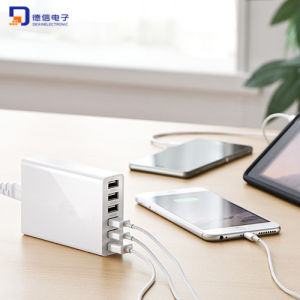 6 Ports 10A 50W USB Charging Station for Smartphones & iPad pictures & photos