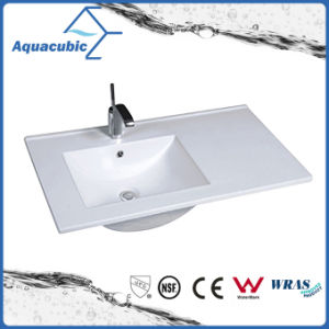 One Piece Bathroom Basin and Countertop Sink (ACB7610) pictures & photos