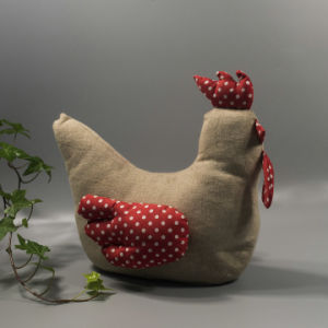 Hot En71 Standard Chicken Fabric Door Stop pictures & photos