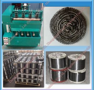 High Output Stainless Steel Scourer Clean Ball Making Machine pictures & photos