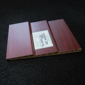WPC Sliding Door Panel Wd-132h9-3L PVC Film Laminated pictures & photos
