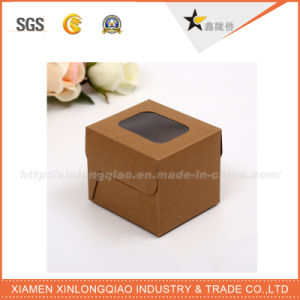 Customized Printing Stamping Leatherette Paper Box, Leather Paper Packaging Box pictures & photos