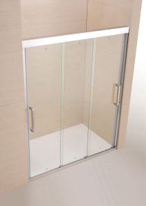 Fashion Simply 3 Movable Doors Shower Screen / Shower Door