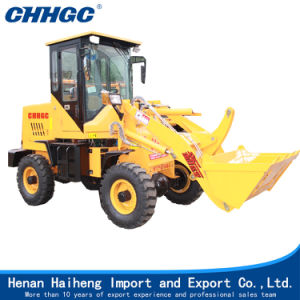 1000kg Front End Loader Hydraulic Wheel Loader pictures & photos