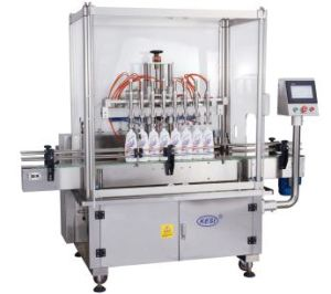 China Full Automatic Bottle Liquid Linear Piston Filling Machine (YBG) pictures & photos