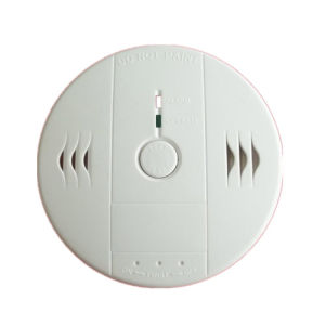Domestic Battery Operated Co Carbon Monoxide Alarm pictures & photos