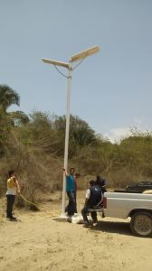 High Power 120 Watt LED Integrated Solar Street Light All in One Solar Light Integrated pictures & photos