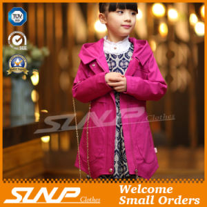 Spring Kids Girl Coat for Children′s Clothing