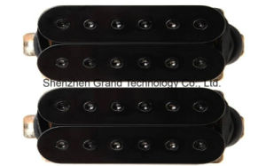 Guitar Humbucker Pickup Set, Black, Bridge & Neck, Hbbc-Bk-Xbb pictures & photos