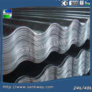 0.15-0.30mm Galvanized Steel Roofing Sinusoidal Profile Steel Sheet pictures & photos