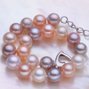 8-9mm Round Cultured Fresh Water Pearl Bracelet, High Quality pictures & photos