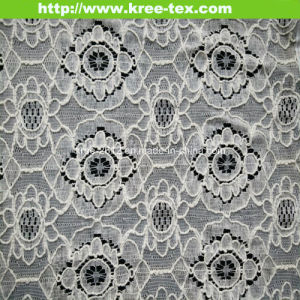 Allove Cotton Nylon Lace Fabric 596