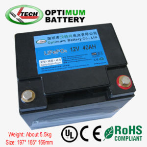 Lithium 12V 40ah Battery Pack for Electric Golf Carts pictures & photos