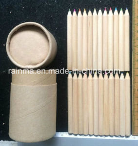 "24PCS 3.5"" Color Pencil in Paper Tube Holder pictures & photos"