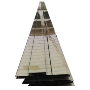 Electrophoretic Champange Aluminium Extrusion Profile for Window Door Industry pictures & photos