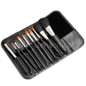 10PCS Cosmetic Make up Brush Set with Natural Hair pictures & photos