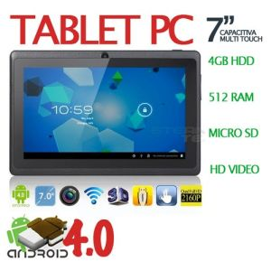Tablet_w/ WebCam and Cortex A9 Processor (Black). Craig Electronics