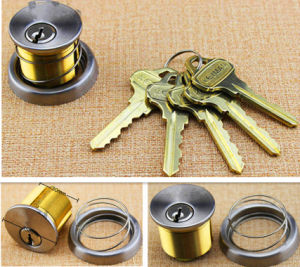 Door Lock Cylinder Lock, Brass Cylinder Lock, Al-35 pictures & photos