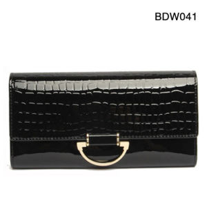 Spring and Summer Mitation Crocodile Leather Women Fashion Clutch Evening Party Bags pictures & photos