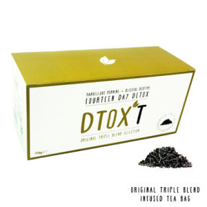 Customized Brand Dtox′t 14 Day Weight Loss Detox Tea Original Triple Blend Infusion pictures & photos
