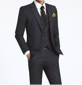 3PC Men′s Wedding Dress Grey Suit pictures & photos