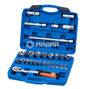 "27 PCS 1/2"" Drive Metric Socket Set (MG10027) pictures & photos"