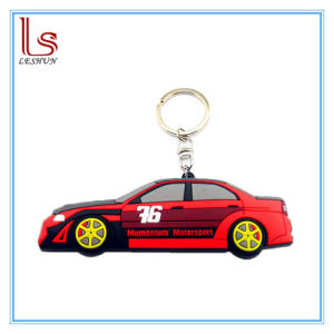 2D/3D Custom Shaped Soft PVC Rubber Car Band Keychain pictures & photos