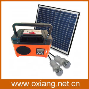New Arrival 10wp/17.5V Mini Solar Power Generator Sp7 Equipment with Radio pictures & photos