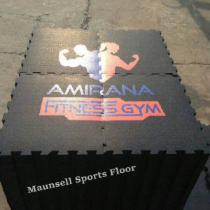 Professional Cheap Rubber/EPDM Roll/Tile/Interlock Gym Sports Flooring pictures & photos