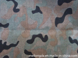 Cotton Camouflage Fabric for Military Uniform (Cam-004#)