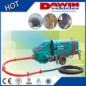 S Tube Value Diesel Wet Concrete Shotcrete Pump Machine 300L Cement Grounter pictures & photos