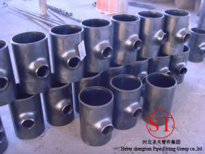 Seamless Pipe Tee pictures & photos