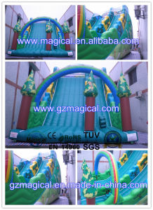 0.55mm PVC Tarpaulin Inflatable Slide (RA-033) pictures & photos