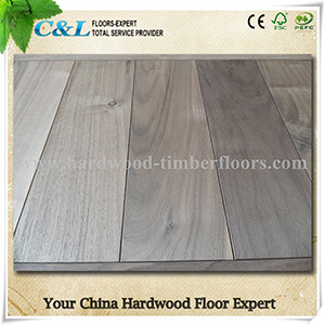 Popular Unfinished American Walnut Wood Flooring pictures & photos