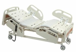Best Quality Hot Sale CE Approved Electric Five Function Hospital Bed pictures & photos