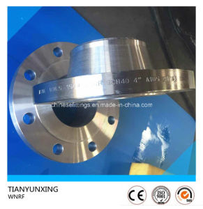 ASME B16.5 Sch40 Carbon Steel Weld Neck Flange pictures & photos
